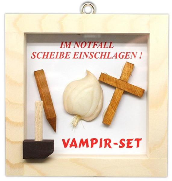 notfallset vampir. Black Bedroom Furniture Sets. Home Design Ideas