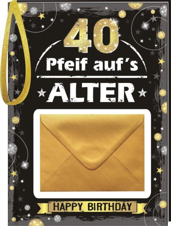 Geld Geburtstagsbuch Mann 40 Geburtstag Geschenkexpress Ch