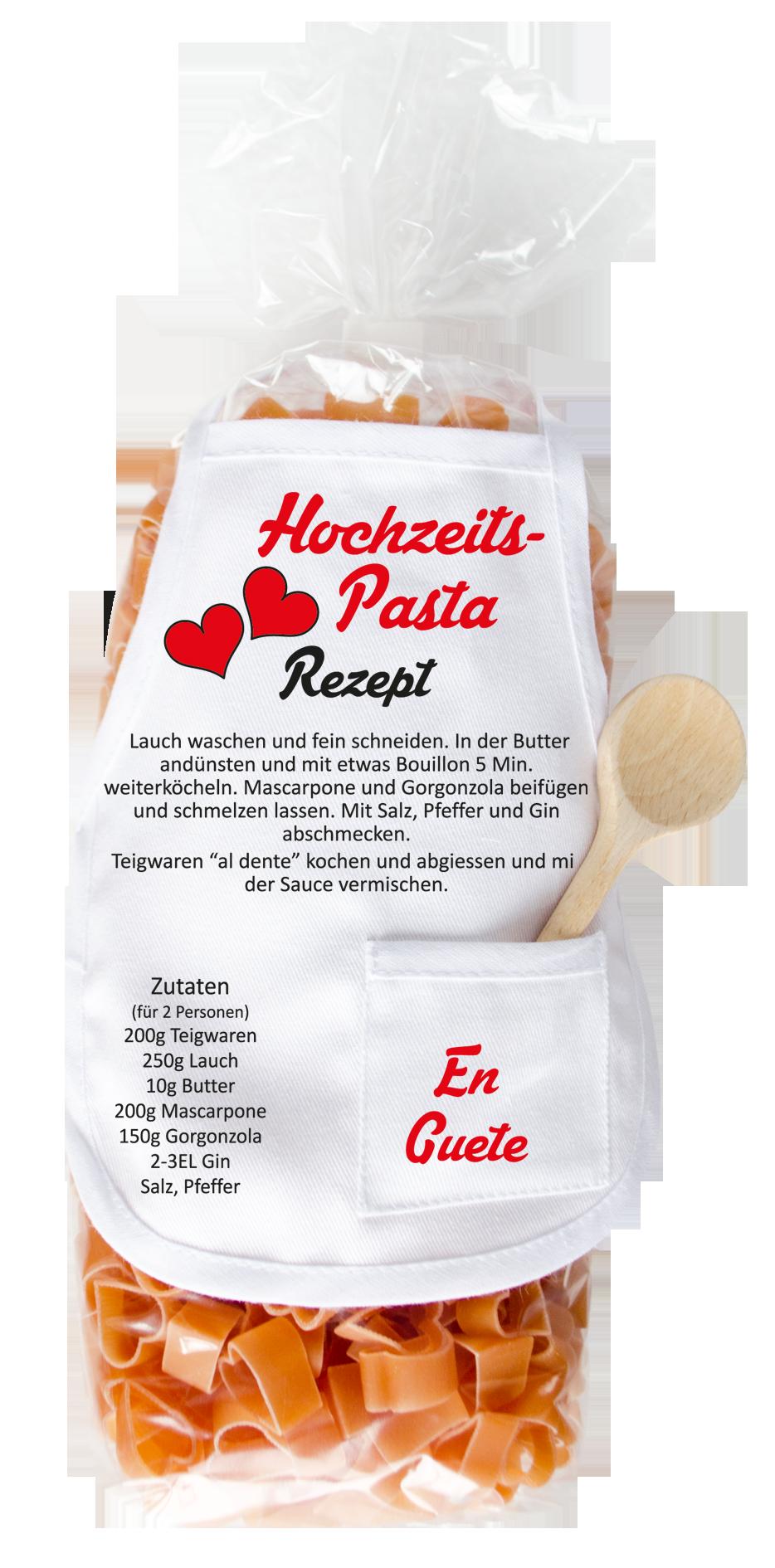 Hochzeit Herz Pasta Geschenkexpress Ch