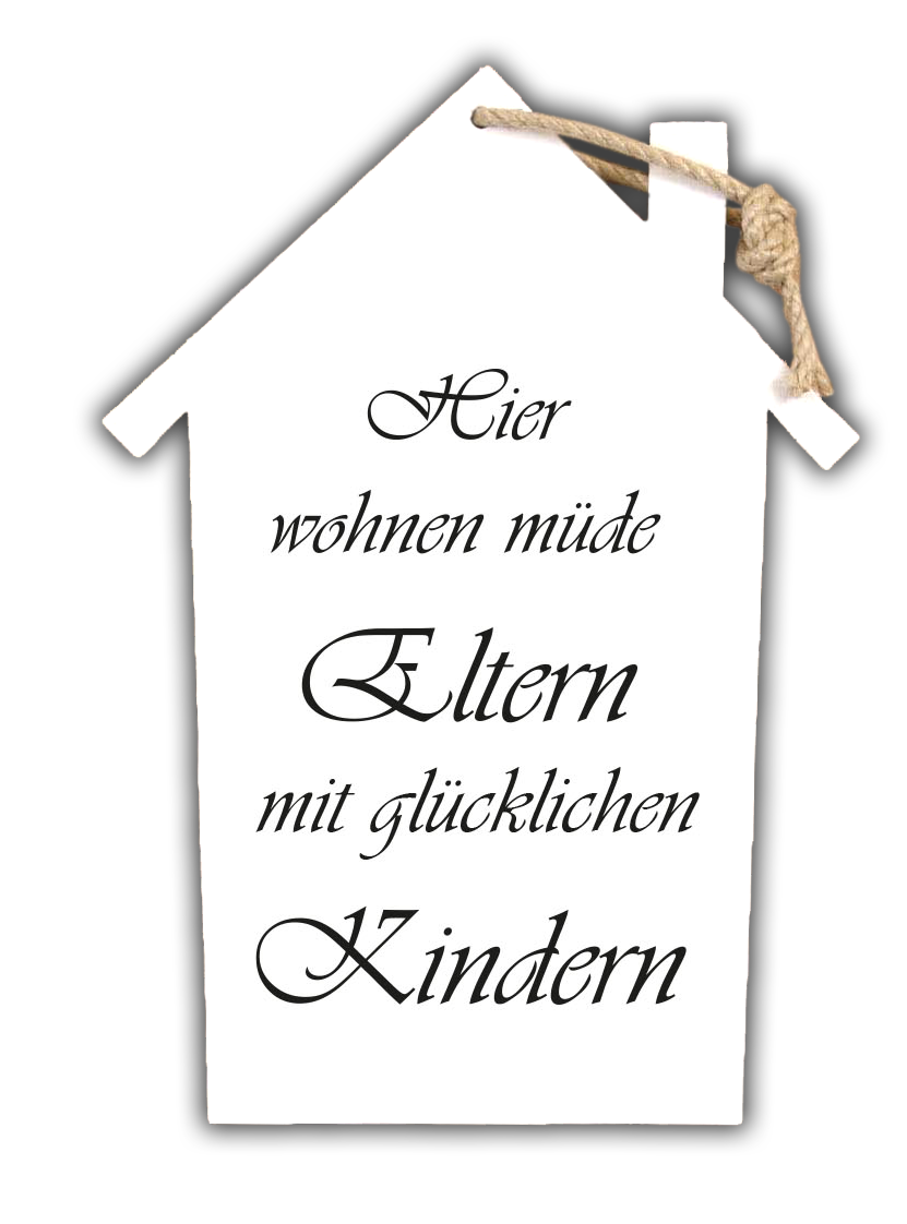 eltern kinder holzschild. Black Bedroom Furniture Sets. Home Design Ideas