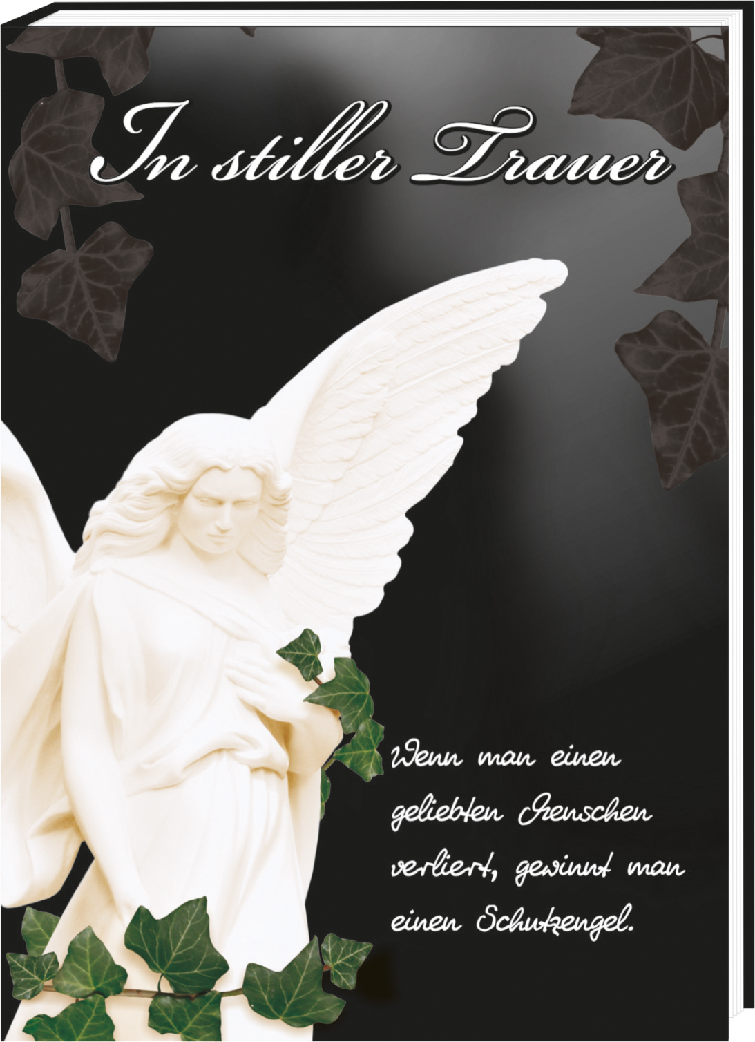 Die Alternative Zu Einer Trauerkarte. Das Trauer Buch Mit Einfühlsamen  Sprüchen Und Bildern. Tröstende