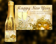 Happy New Year Goldsekt