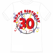 Happy Birthday 30. Geburtstag T-Shirt