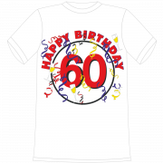 Happy Birthday 60. Geburtstag T-Shirt