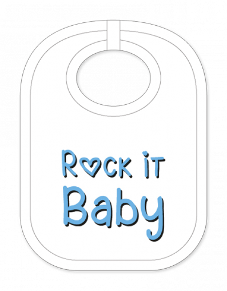 Rock it Baby Babylatz - carina-geschenke.ch