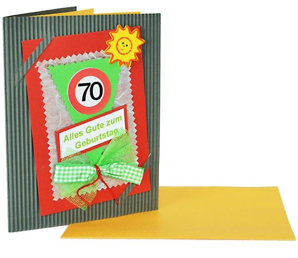 geburtstagskarte 70 jahre geschenk online shop carina geschenke wil und flippy shop st gallen. Black Bedroom Furniture Sets. Home Design Ideas