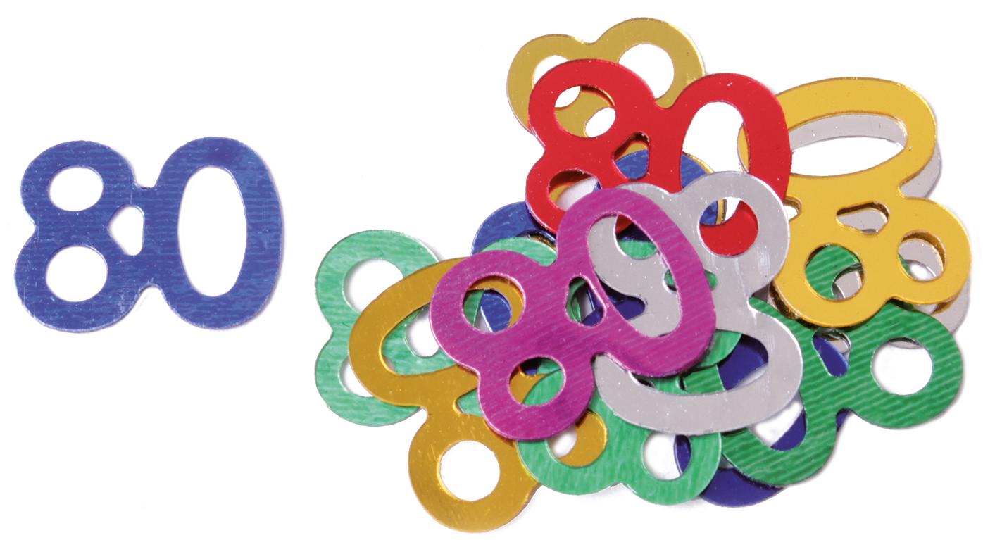 80 tischkonfetti geschenk online shop carina geschenke for Dekoration 80 geburtstag
