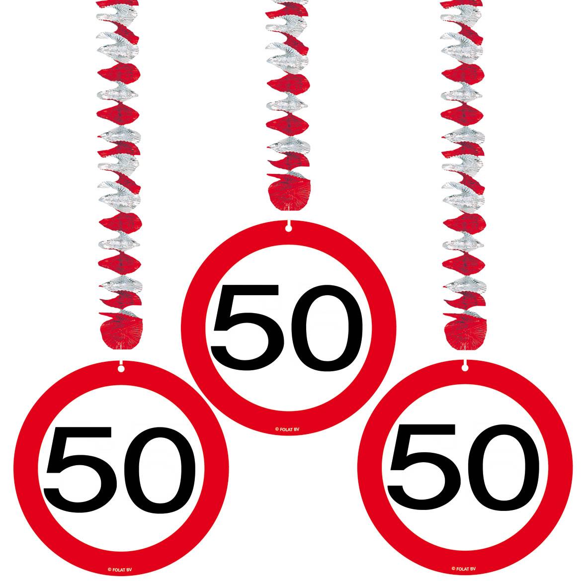 hange dekoration zum 50 geburtstag auch geeignet fur ein 50 jahr jubilaum mit