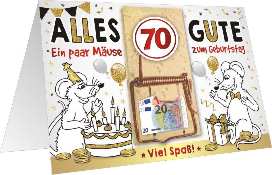 Geburtstagskarten 70 jahre