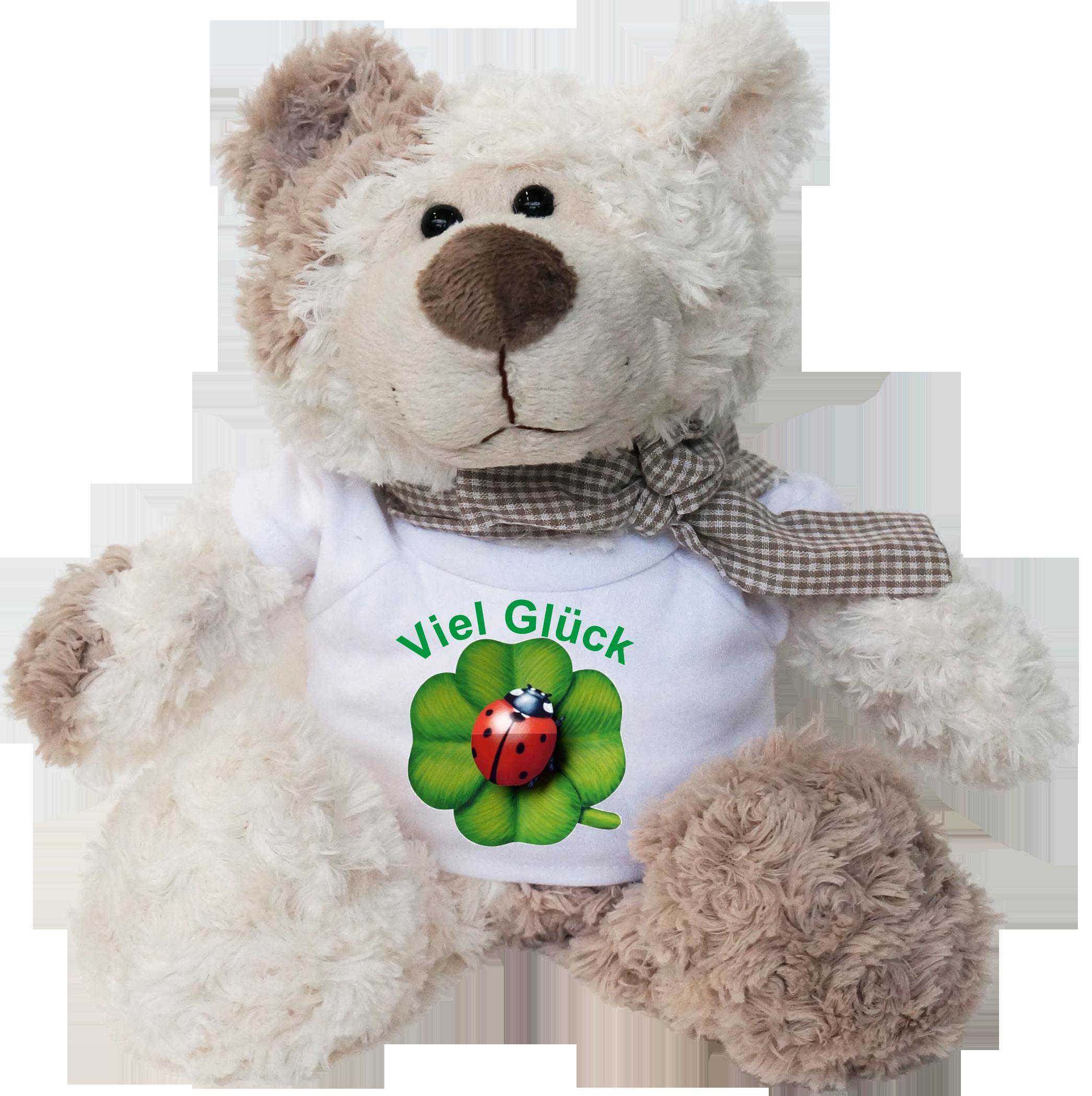 Viel Gluck Kafer Pluschbar Geschenk Online Shop Carina Geschenke