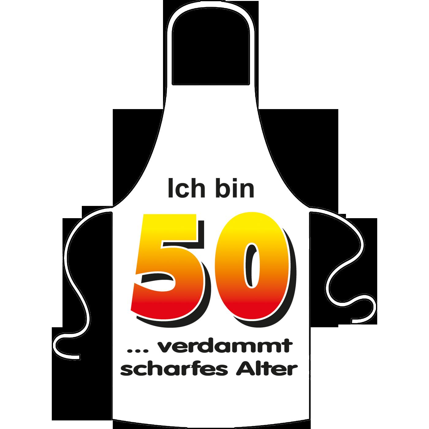 Ich Bin 50 Spruch Schurze Geschenk Online Shop Carina Geschenke