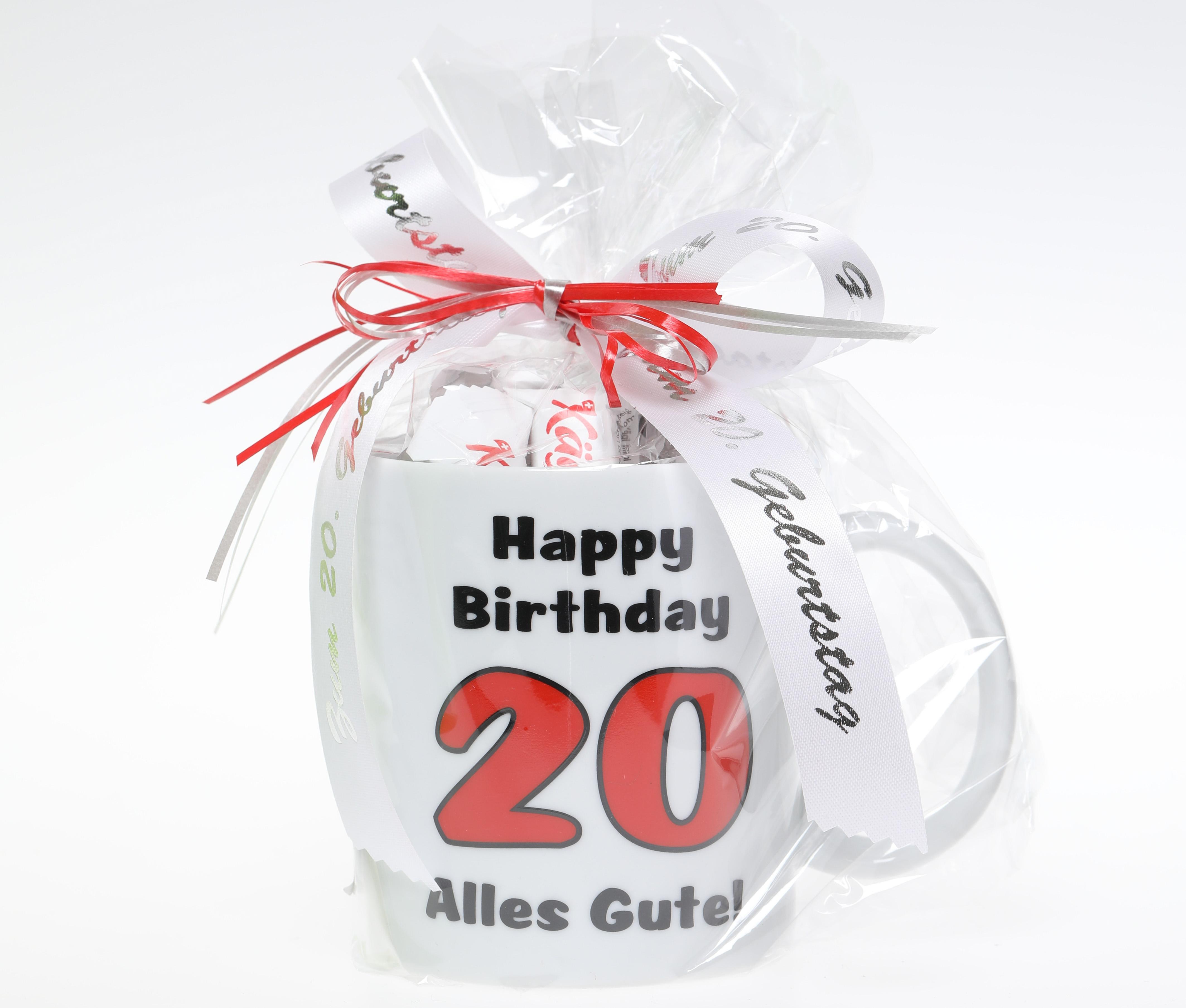20 Geburtstag Tasse