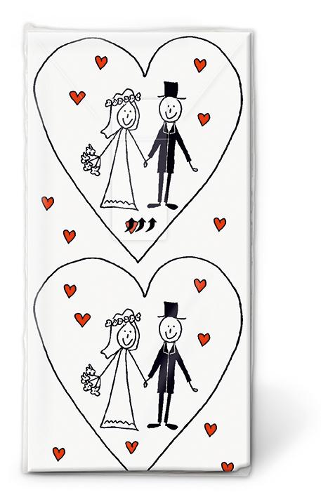 Hochzeit Taschentucher Carina Geschenke Ch