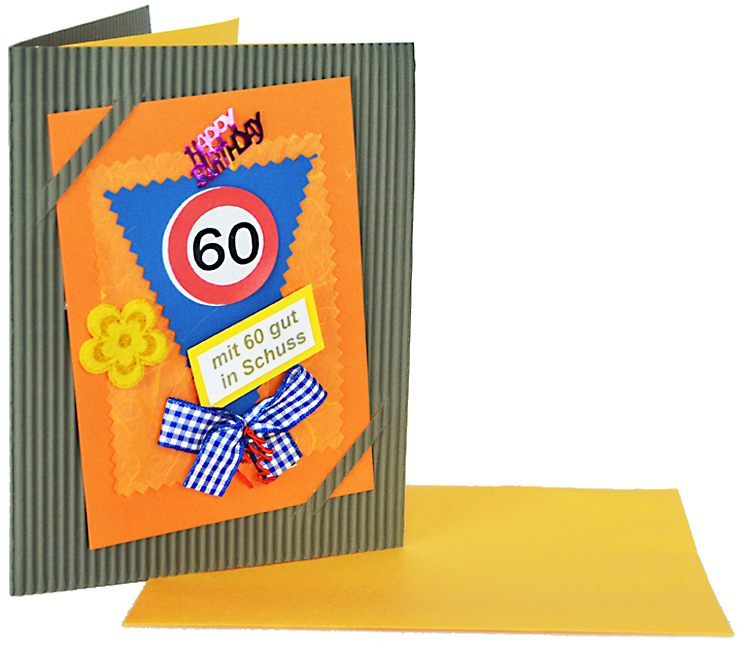 geburtstagskarte 60 jahre geschenk online shop carina geschenke wil und flippy shop st gallen. Black Bedroom Furniture Sets. Home Design Ideas