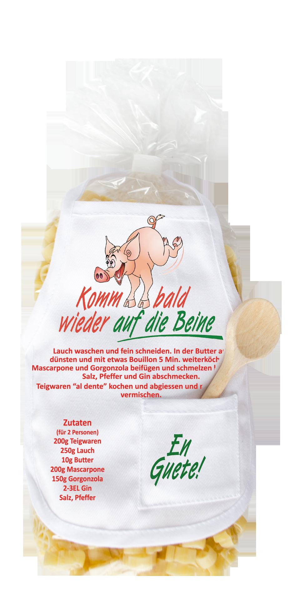 Gute Besserung Schwein Pasta Carina Geschenke Ch