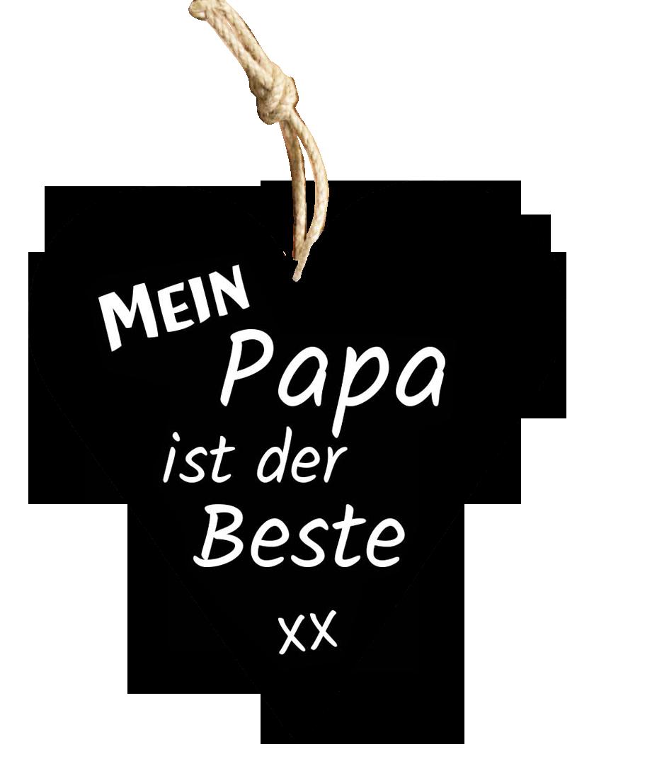 Papa Holzschild - carina-geschenke.ch