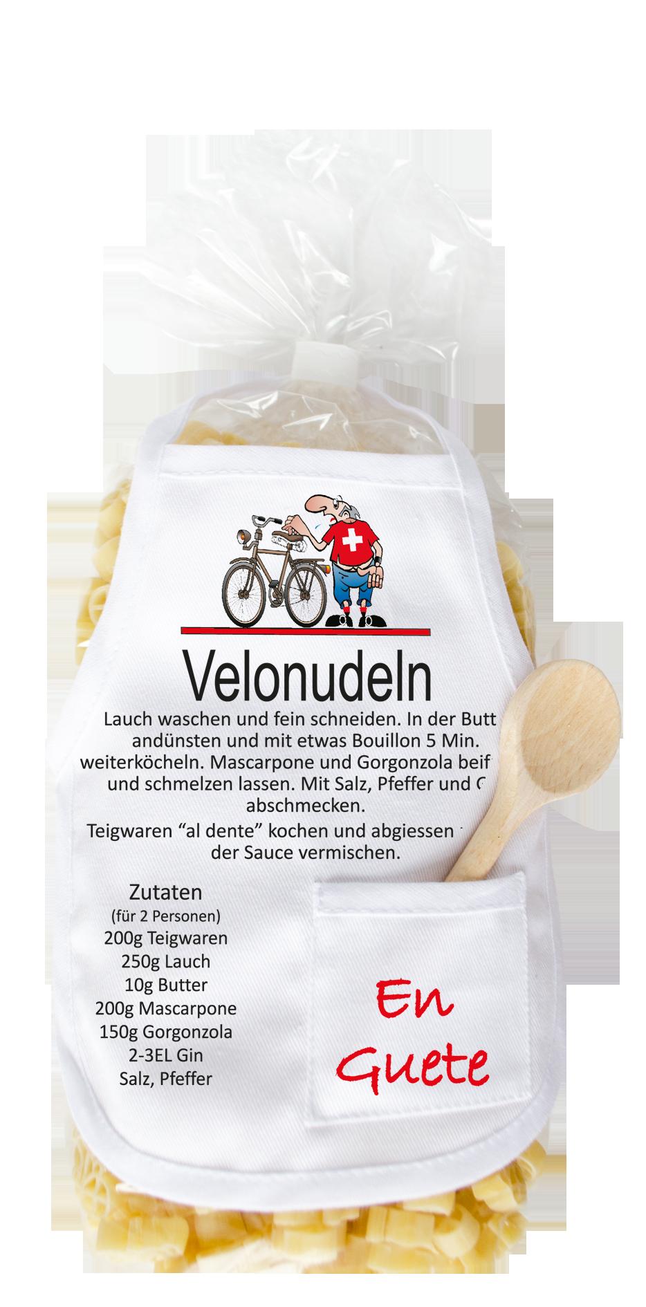 Velonudeln Velo Pasta   carina geschenke.ch