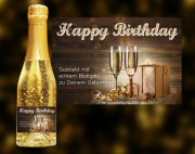 Happy Birthday Goldsekt