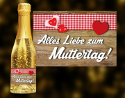 Muttertag Goldsekt