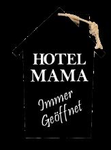 hotel mama holzschild geschenk online shop carina. Black Bedroom Furniture Sets. Home Design Ideas