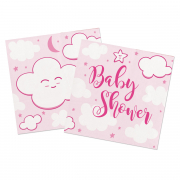 Girl Baby Shower Servietten